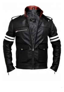 Alex Mercer Prototype Dragon Leather Jacket
