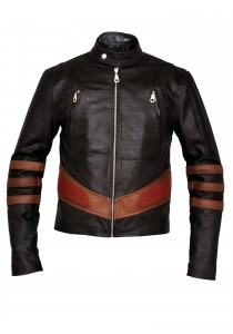 X Men 2 United Brown Leather Jacket