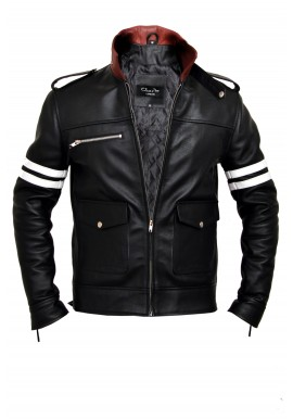 Alex Mercer Prototype Dragon Leather Jacket