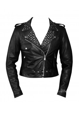 Women's Fashion Leather Jacket
